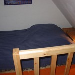 Schlafplatz im Loft